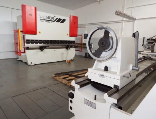 Zakup maszyn doobróbki metalu orazsamochodu dostawczego
