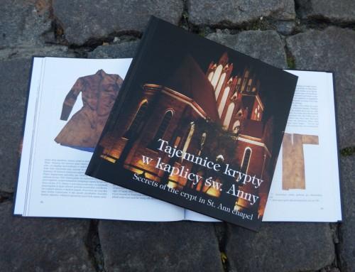 Tajemnice krypty wkaplicy św.Anny wGniewie – publikacja