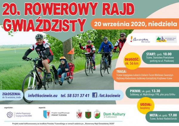 Wstęga Kociewia - zdjecia 20 gwiazdzisty plakat 2020
