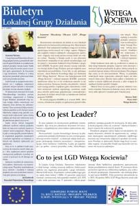 Wstęga Kociewia - 01 Biuletyn LGD Wstega Kociewia nr1 czerwiec 2009
