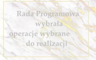 Wstęga Kociewia - baner na strone wyniki naborow