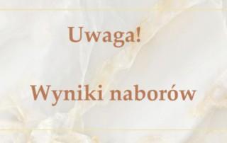 Wstęga Kociewia - baner wyniki naborow