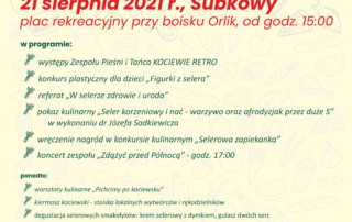 Wstęga Kociewia - Pelna Grapa 2021 plakat