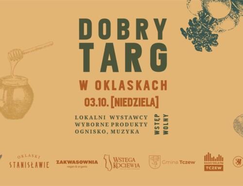 Weź udział wJesiennym Dobrym Targu!